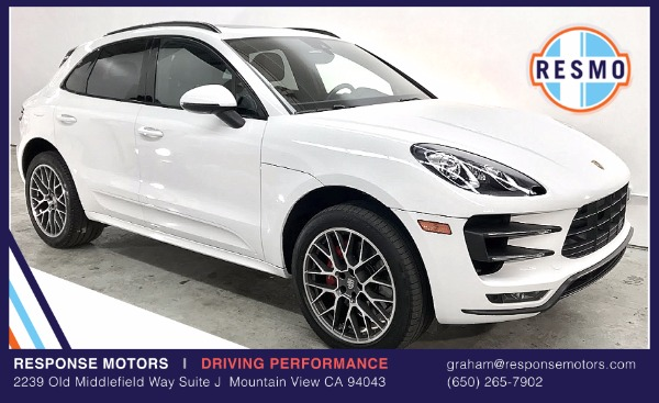 Used 2015 Porsche Macan Turbo Turbo | Mountain View, CA