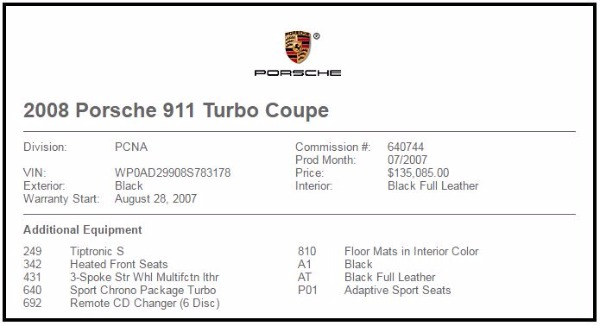 Used 2008 Porsche 911 Turbo Used 2008 Porsche 911 Turbo for sale Sold at Response Motors in Mountain View CA 24