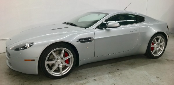 Used 2007 Aston Martin V8 Vantage Used 2007 Aston Martin V8 Vantage for sale Sold at Response Motors in Mountain View CA 5
