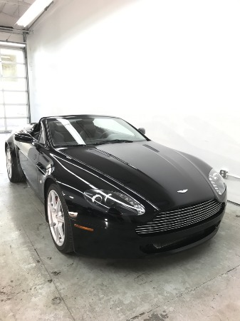 Used 2008 Aston Martin V8 Vantage Roadster Used 2008 Aston Martin V8 Vantage Roadster for sale Sold at Response Motors in Mountain View CA 12