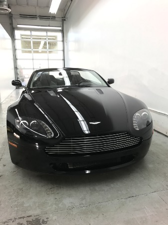 Used 2008 Aston Martin V8 Vantage Roadster Used 2008 Aston Martin V8 Vantage Roadster for sale Sold at Response Motors in Mountain View CA 13