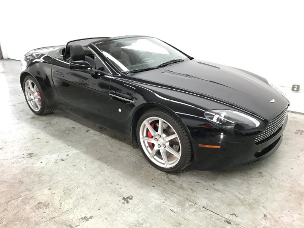 Used 2008 Aston Martin V8 Vantage Roadster Used 2008 Aston Martin V8 Vantage Roadster for sale Sold at Response Motors in Mountain View CA 3