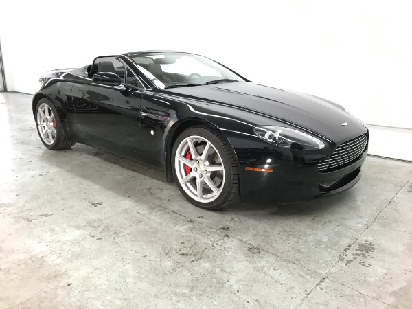 Used 2008 Aston Martin V8 Vantage Roadster Used 2008 Aston Martin V8 Vantage Roadster for sale Sold at Response Motors in Mountain View CA 4