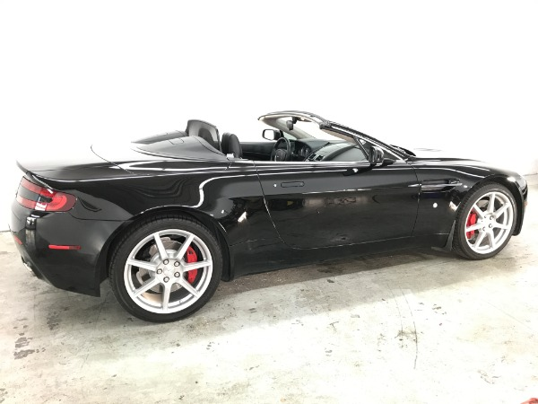 Used 2008 Aston Martin V8 Vantage Roadster Used 2008 Aston Martin V8 Vantage Roadster for sale Sold at Response Motors in Mountain View CA 5