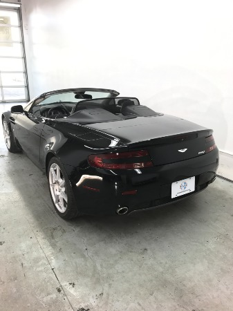 Used 2008 Aston Martin V8 Vantage Roadster Used 2008 Aston Martin V8 Vantage Roadster for sale Sold at Response Motors in Mountain View CA 7