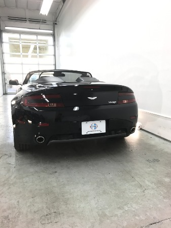 Used 2008 Aston Martin V8 Vantage Roadster Used 2008 Aston Martin V8 Vantage Roadster for sale Sold at Response Motors in Mountain View CA 8