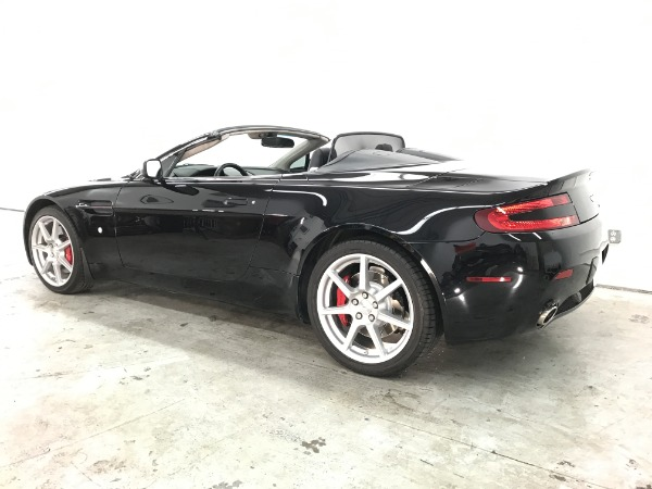 Used 2008 Aston Martin V8 Vantage Roadster Used 2008 Aston Martin V8 Vantage Roadster for sale Sold at Response Motors in Mountain View CA 9