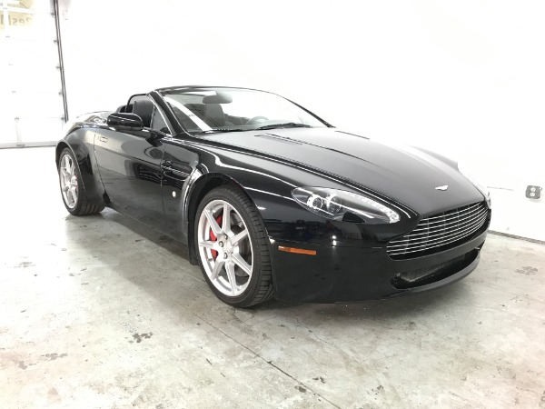 Used 2008 Aston Martin V8 Vantage Roadster Used 2008 Aston Martin V8 Vantage Roadster for sale Sold at Response Motors in Mountain View CA 1