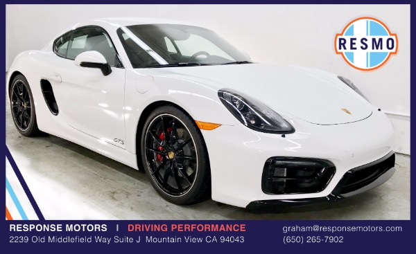 Used 2016 Porsche Cayman GTS GTS Used 2016 Porsche Cayman GTS GTS for sale Sold at Response Motors in Mountain View CA 2