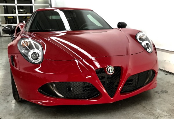 Used 2015 Alfa Romeo 4C Launch Edition Used 2015 Alfa Romeo 4C Launch Edition for sale Sold at Response Motors in Mountain View CA 8