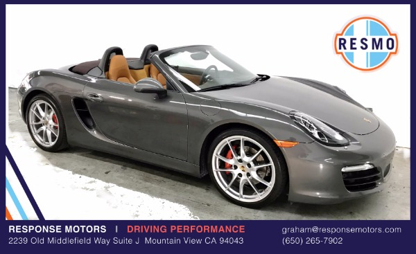 Used 2013 Porsche Boxster S Used 2013 Porsche Boxster S for sale Sold at Response Motors in Mountain View CA 2