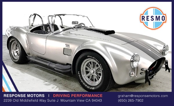 Used 1965 Superformance Cobra Used 1965 Superformance Cobra for sale Sold at Response Motors in Mountain View CA 2