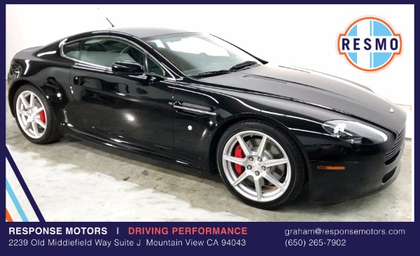 Used 2006 Aston Martin V8 Vantage Used 2006 Aston Martin V8 Vantage for sale Sold at Response Motors in Mountain View CA 2