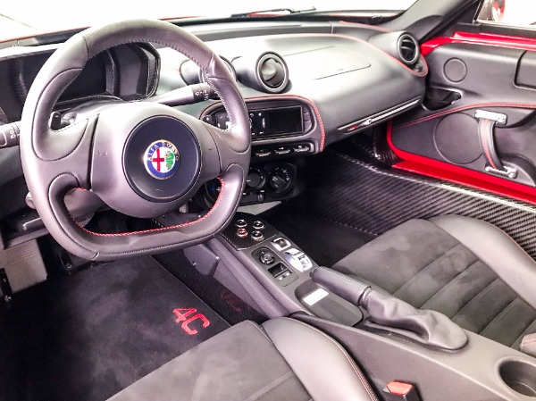 Used 2015 Alfa Romeo 4C Launch Edition Used 2015 Alfa Romeo 4C Launch Edition for sale Sold at Response Motors in Mountain View CA 11