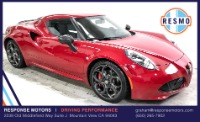Used 2015 Alfa Romeo 4C Launch Edition Used 2015 Alfa Romeo 4C Launch Edition for sale Sold at Response Motors in Mountain View CA 2