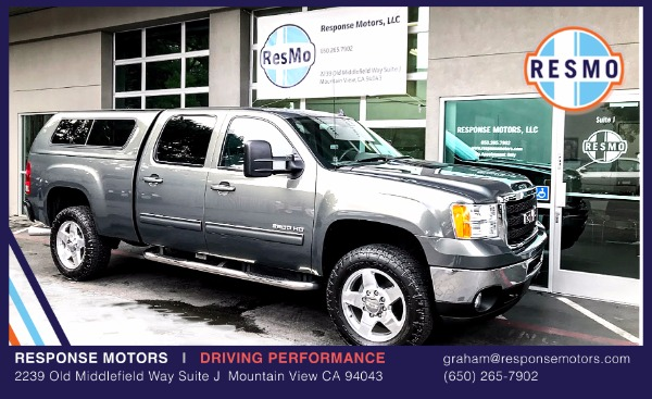 Used 2011 GMC Sierra 2500HD SLT Duramax Used 2011 GMC Sierra 2500HD SLT Duramax for sale Sold at Response Motors in Mountain View CA 2