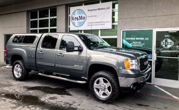 Used 2011 GMC Sierra 2500HD SLT Duramax Used 2011 GMC Sierra 2500HD SLT Duramax for sale Sold at Response Motors in Mountain View CA 1