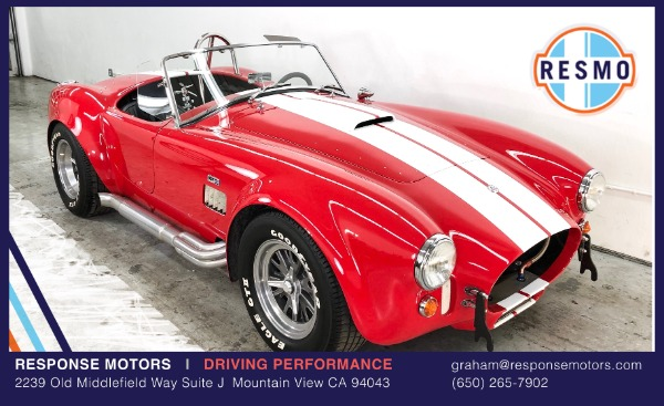 Used 1965 Shelby Cobra Superformance Superformance Used 1965 Shelby Cobra Superformance Superformance for sale Sold at Response Motors in Mountain View CA 2