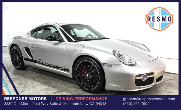 Used 2008 Porsche Cayman S Sport Used 2008 Porsche Cayman S Sport for sale Sold at Response Motors in Mountain View CA 2