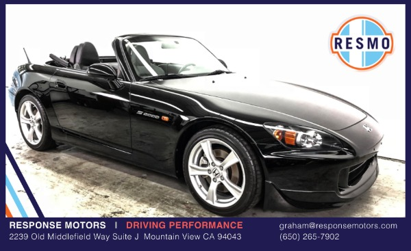 Used 2008 Honda S2000 Used 2008 Honda S2000 for sale Sold at Response Motors in Mountain View CA 2