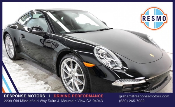 Used 2015 Porsche 911 Carrera Used 2015 Porsche 911 Carrera for sale Sold at Response Motors in Mountain View CA 2
