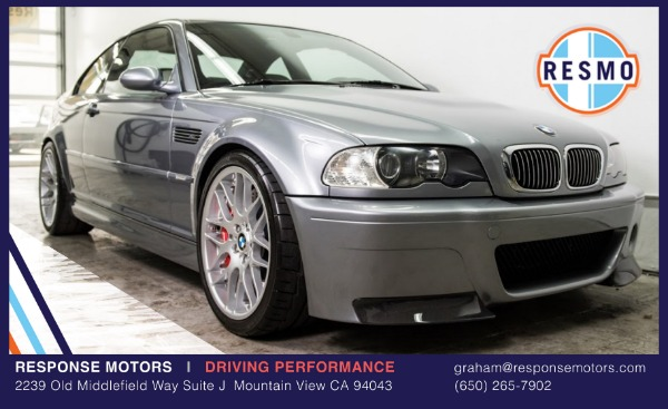 Used 2005 BMW M3 Used 2005 BMW M3 for sale Sold at Response Motors in Mountain View CA 2
