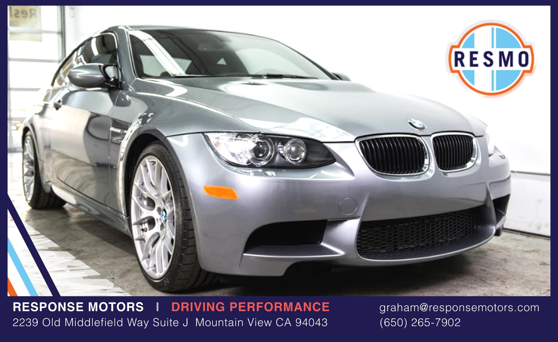 Used 2011 BMW M3 Used 2011 BMW M3 for sale Sold at Response Motors in Mountain View CA 2