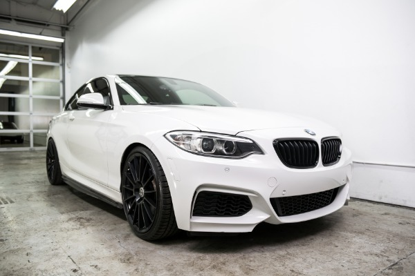 Used 2015 BMW 2 Series M235i Used 2015 BMW 2 Series M235i for sale Sold at Response Motors in Mountain View CA 1