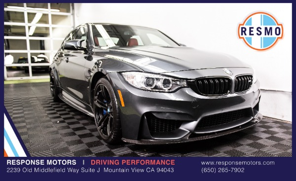 Used 2015 BMW M3 Used 2015 BMW M3 for sale Sold at Response Motors in Mountain View CA 2