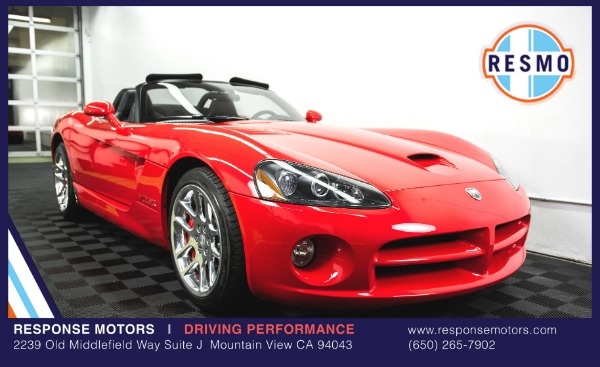 Used 2004 Dodge Viper SRT-10 Used 2004 Dodge Viper SRT-10 for sale Sold at Response Motors in Mountain View CA 2