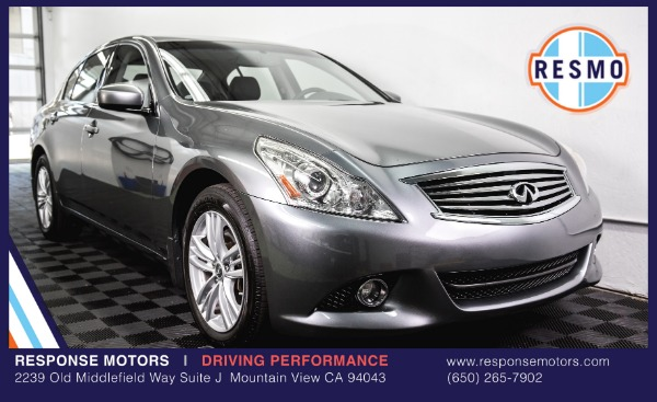 Used 2011 INFINITI G37 Sedan x Used 2011 INFINITI G37 Sedan x for sale Sold at Response Motors in Mountain View CA 2