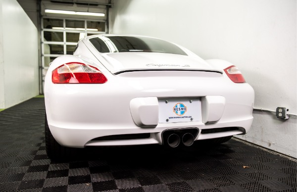 Used 2007 Porsche Cayman S Used 2007 Porsche Cayman S for sale Sold at Response Motors in Mountain View CA 8