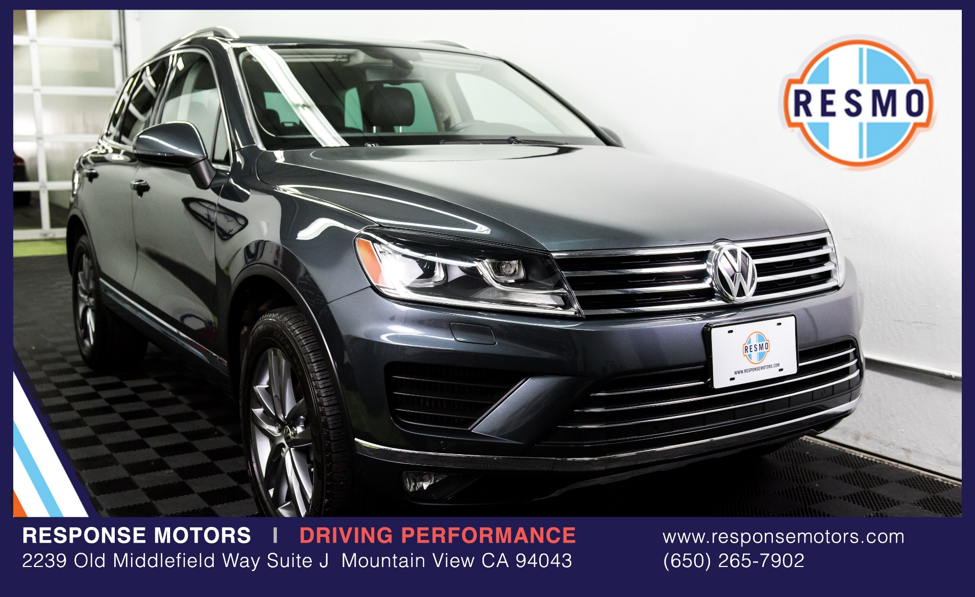Used 2015 Volkswagen Touareg TDI Lux Used 2015 Volkswagen Touareg TDI Lux for sale Sold at Response Motors in Mountain View CA 2