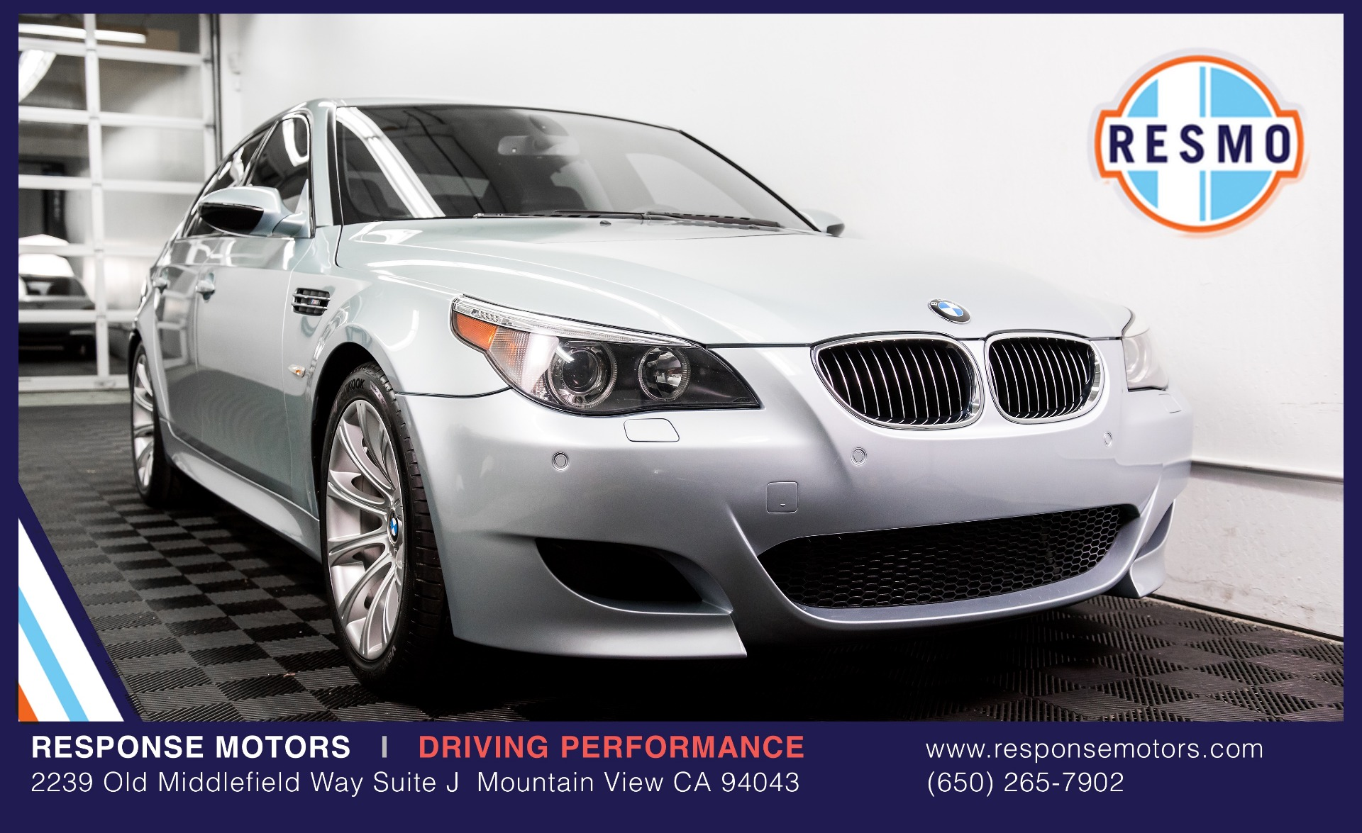 Used 2007 BMW M5 Used 2007 BMW M5 for sale Sold at Response Motors in Mountain View CA 24