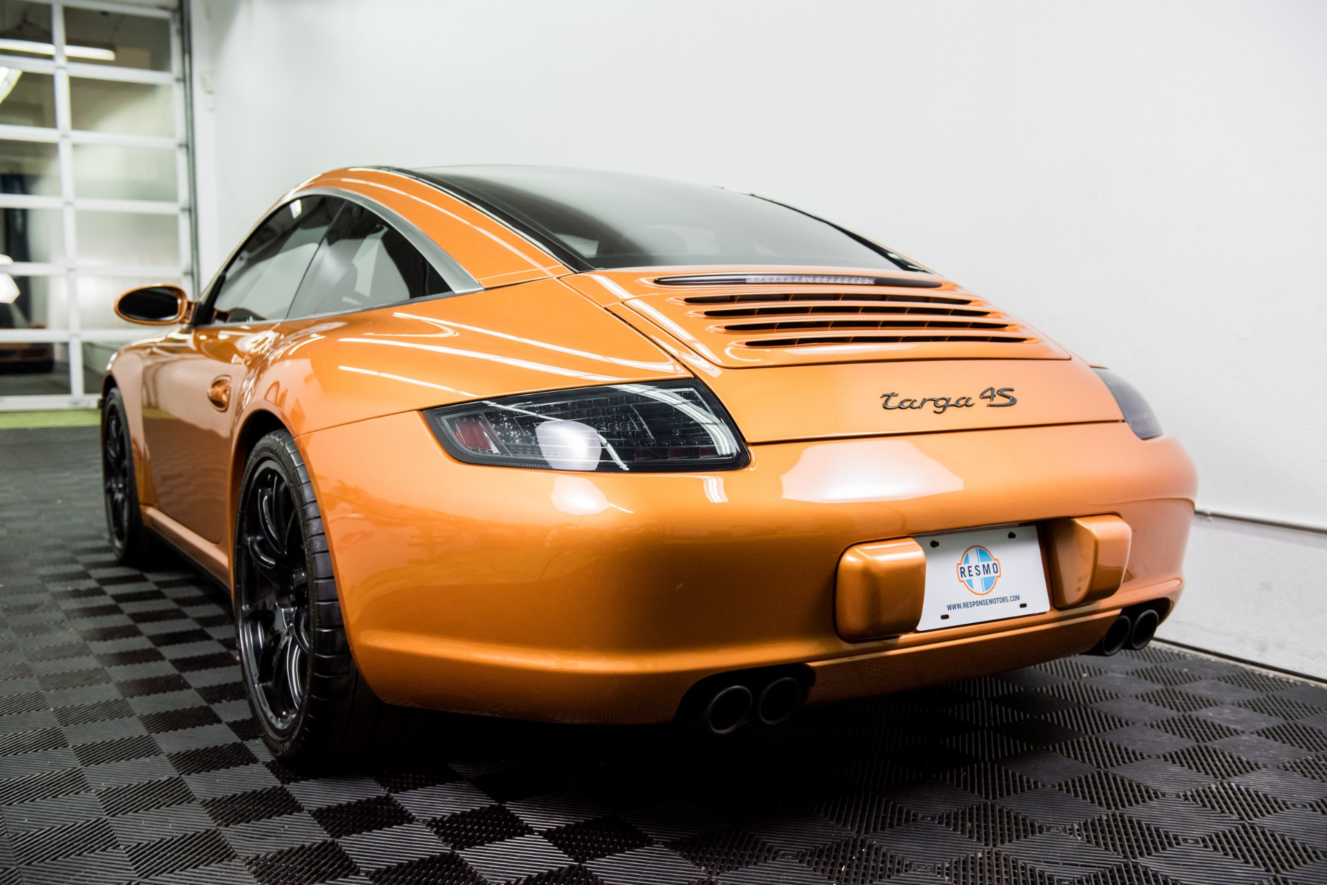 Used 2007 Porsche 911 Targa 4S Used 2007 Porsche 911 Targa 4S for sale Sold at Response Motors in Mountain View CA 6