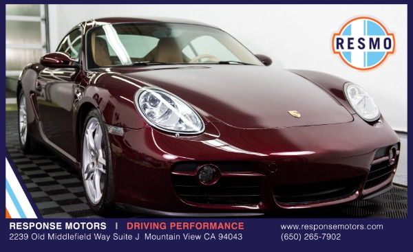 Used 2007 Porsche Cayman Used 2007 Porsche Cayman for sale Sold at Response Motors in Mountain View CA 2
