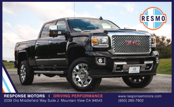 Used 2017 GMC Sierra 2500HD Denali Used 2017 GMC Sierra 2500HD Denali for sale Sold at Response Motors in Mountain View CA 2