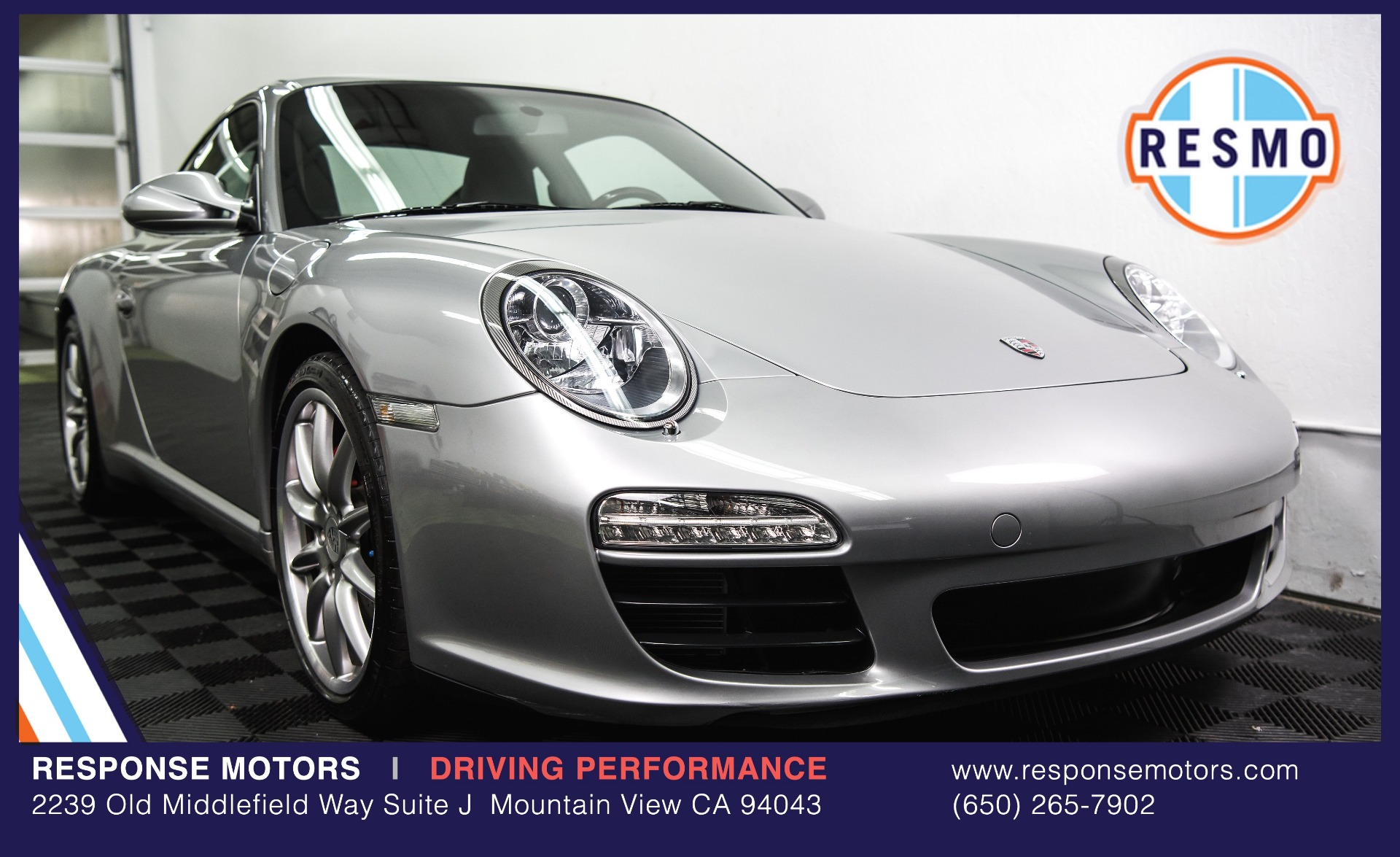 Used 2010 Porsche 911 Carrera S Used 2010 Porsche 911 Carrera S for sale Sold at Response Motors in Mountain View CA 2
