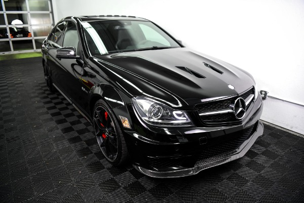 Used 2014 Mercedes-Benz C-Class C 63 AMG 507 Used 2014 Mercedes-Benz C-Class C 63 AMG 507 for sale Sold at Response Motors in Mountain View CA 3