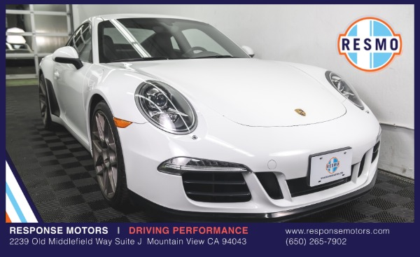 Used 2013 Porsche 911 Carrera S Used 2013 Porsche 911 Carrera S for sale Sold at Response Motors in Mountain View CA 2
