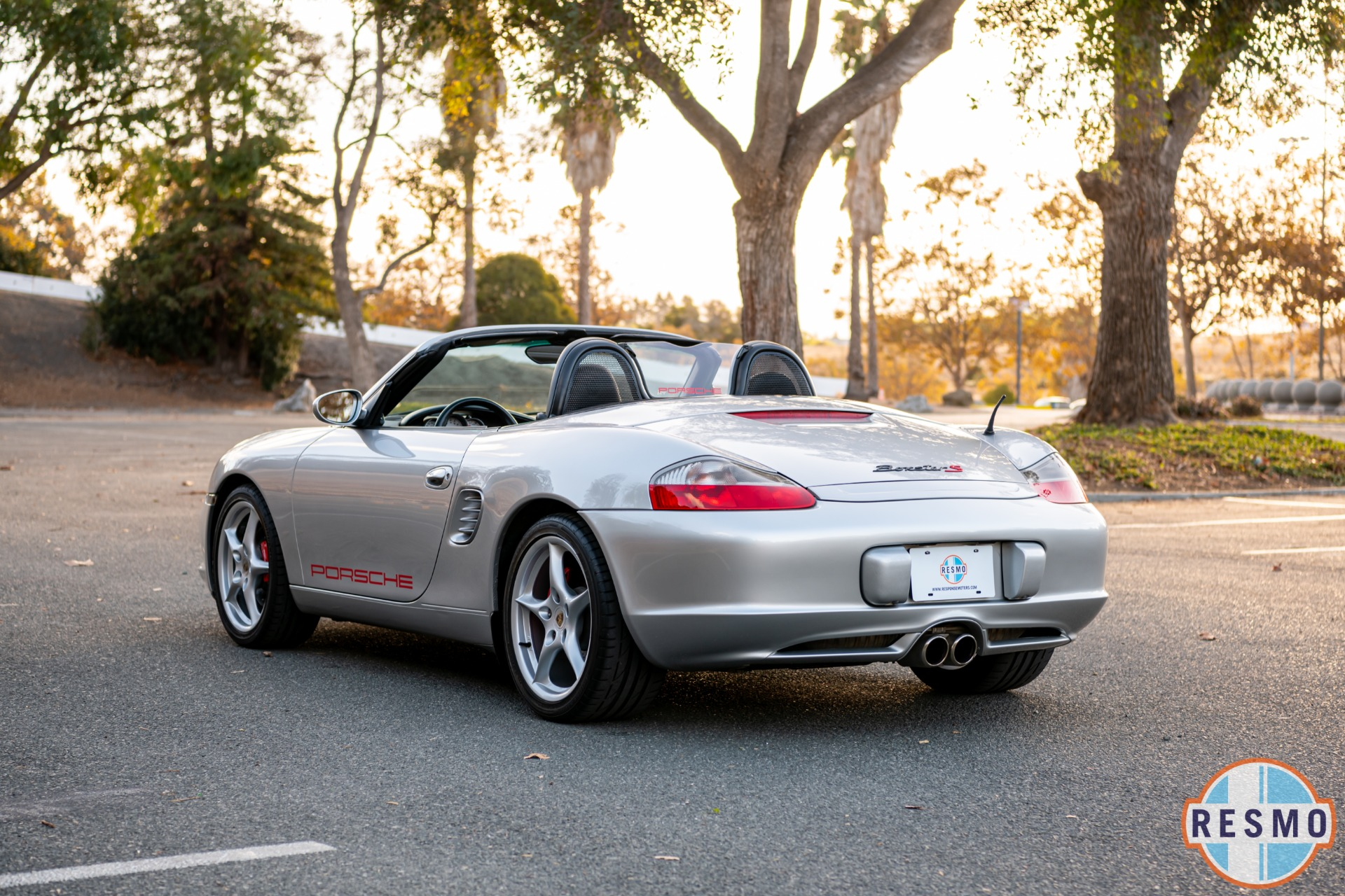 Used 2003 Porsche Boxster S Used 2003 Porsche Boxster S for sale Sold at Response Motors in Mountain View CA 8