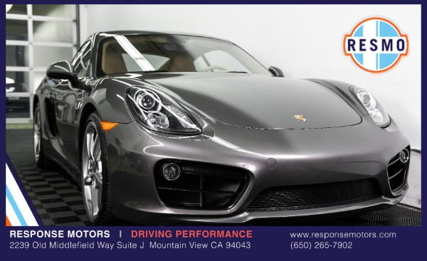 Used 2015 Porsche Cayman S Used 2015 Porsche Cayman S for sale Sold at Response Motors in Mountain View CA 2