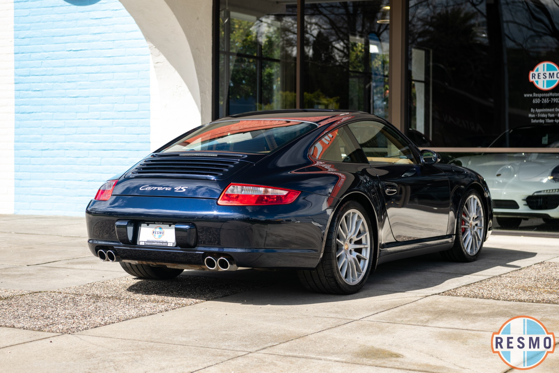 Used 2008 Porsche 911 Carrera 4S Used 2008 Porsche 911 Carrera 4S for sale $41,999 at Response Motors in Mountain View CA 6