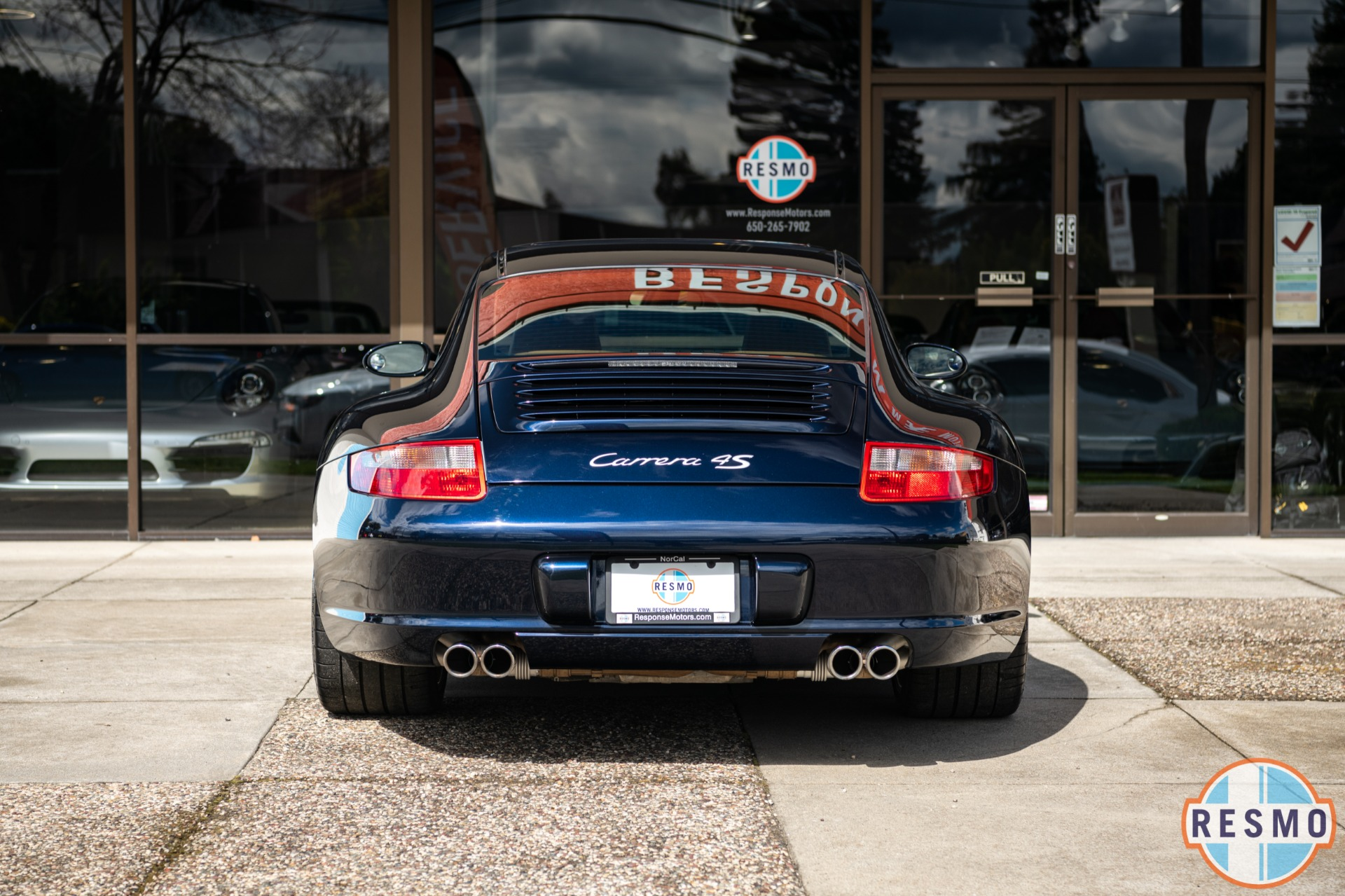 Used 2008 Porsche 911 Carrera 4S Used 2008 Porsche 911 Carrera 4S for sale $41,999 at Response Motors in Mountain View CA 7