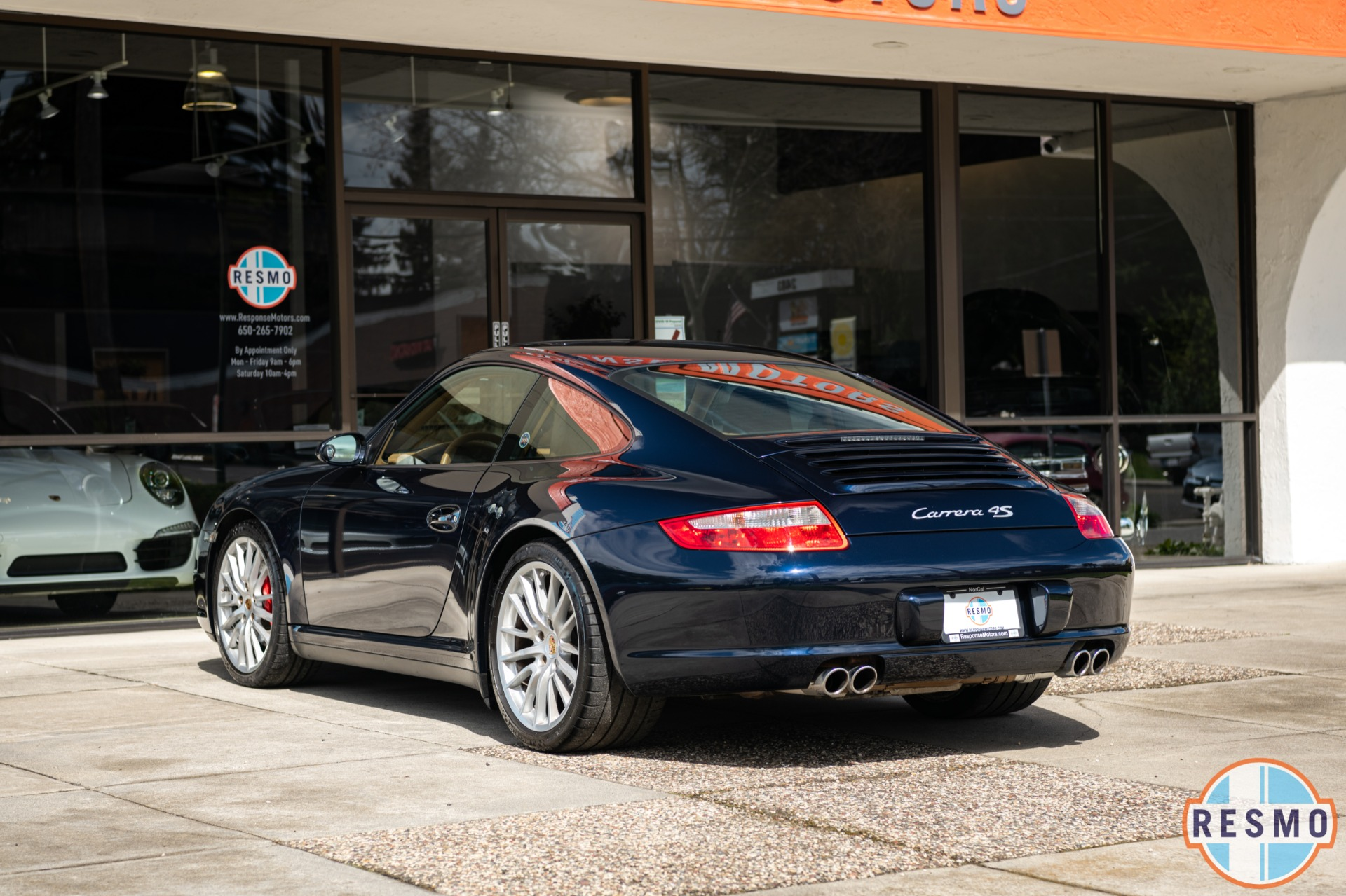 Used 2008 Porsche 911 Carrera 4S Used 2008 Porsche 911 Carrera 4S for sale $41,999 at Response Motors in Mountain View CA 8