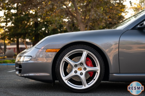 Used 2005 Porsche 911 Carrera S Used 2005 Porsche 911 Carrera S for sale Sold at Response Motors in Mountain View CA 12
