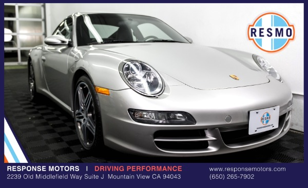 Used 2007 Porsche 911 Carrera 4S Used 2007 Porsche 911 Carrera 4S for sale Sold at Response Motors in Mountain View CA 2