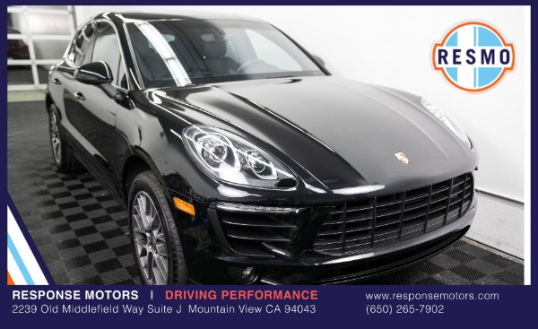 Used 2016 Porsche Macan S Used 2016 Porsche Macan S for sale Sold at Response Motors in Mountain View CA 2