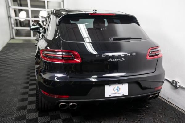 Used 2016 Porsche Macan S Used 2016 Porsche Macan S for sale Sold at Response Motors in Mountain View CA 8