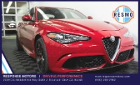 Used 2018 Alfa Romeo Giulia Quadrifoglio Used 2018 Alfa Romeo Giulia Quadrifoglio for sale Sold at Response Motors in Mountain View CA 2